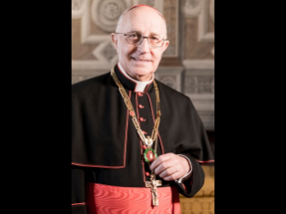 CONGRATULATIONS FROM THE GRAND MASTER AND THE ORDER OF THE HOLY SEPULCHRE TO THE NEW LATIN PATRIARCH OF JERUSALEM